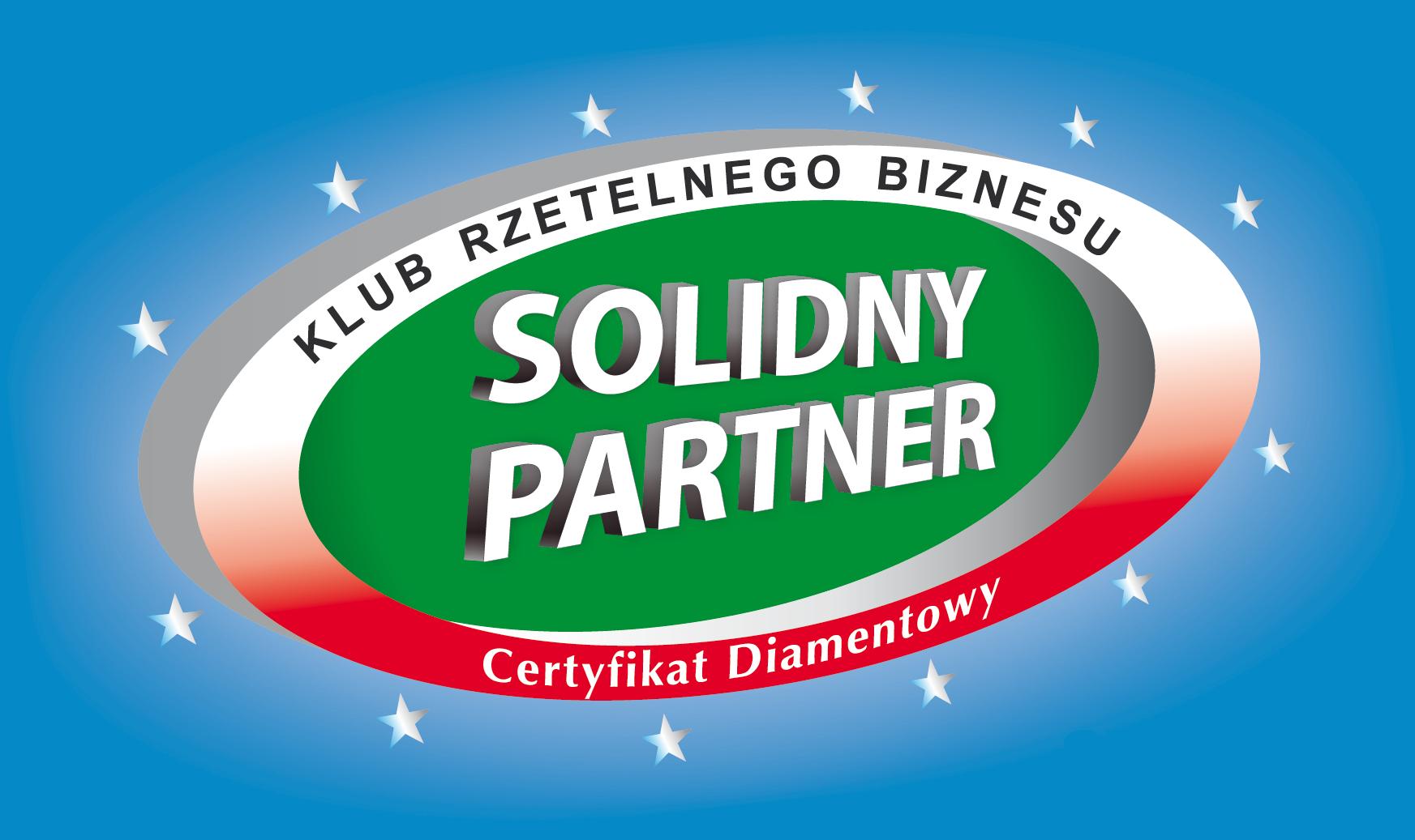 Certyfikat Diamentowy | Solidny Partner